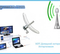 Безлимитный домашний интернет WIFI