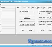 Программа для прошивки разблокировки CDMA Workshop 2.7